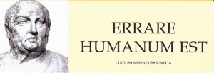 Equivocarse es de humanos
